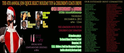 4th annual toy drive